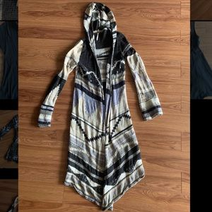 Free People Full Length Knit Cardigan
